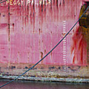 The Peggy Palmer Barge Art Print