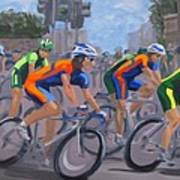 The Peloton Art Print