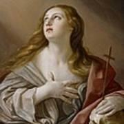 The Penitent Magdalene Art Print by Guido Reni