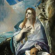The Penitent Mary Magdalene Art Print