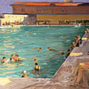 The Peoples Pool, Palm Beach, 1927 Art Print