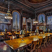 The Periodicals Room At The New York Public Library Art Print