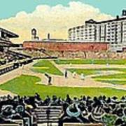 The Phillies Baker Bowl In Philadelphia Pa In 1914 Art Print