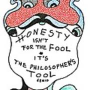 The Philosophers Tool Art Print