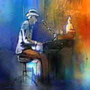 The Pianist 01 Art Print