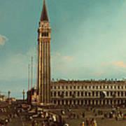 The Piazza San Marco Venice Art Print