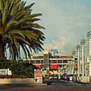 The Pier 2 -  St. Petersburg Fl Art Print