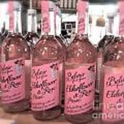 The Pink Drink Art Print