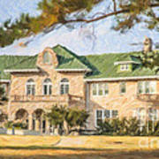 The Pink Palace Museum Memphis Tn Usa Art Print