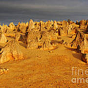 The Pinnacles 4 Art Print