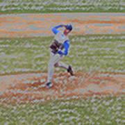 The Pitcher Digital Art Art Print