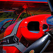 The Pitts S2-b Biplane - Will Allen Airshows Art Print