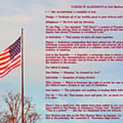 The Pledge Art Print