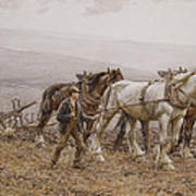 The Ploughman Wilmington Polegate Near Eastbourne Art Print