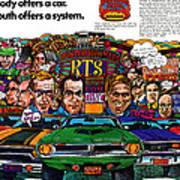 The Plymouth Rapid Transit System Art Print