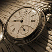 The Pocket Watch Print by Mike McGlothlen