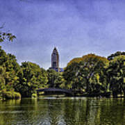 The Pond - Central Park Art Print