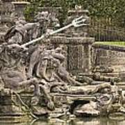 The Ponds Of Versailles - 1  Art Print