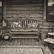 The Porch Art Print