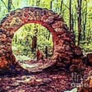 The Portal To Love Life Peace 1 Art Print