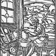 The Potter, 1574 Art Print