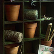 The Potting Shed Art Print