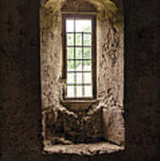 The Priory Window Art Print
