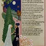 The Prophet - Kahlil Gibran  Art Print