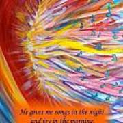 The Prophetic Song Art Print