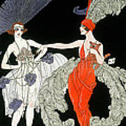 The Purchase  Art Print by Georges Barbier