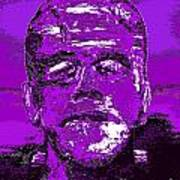 The Purple Monster Art Print