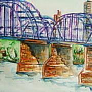 The Purple People Bridge Art Print