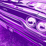 The Purple People Eater - 1970 Plymouth Gtx Art Print