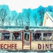 The Quechee Diner Vermont Art Print