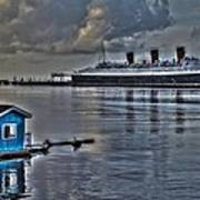 The Queen Mary Art Print