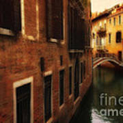 The Quiet Canal Art Print