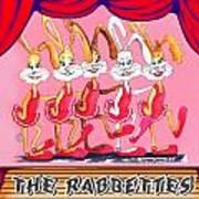 The Rabbettes Art Print