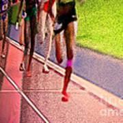 The Race By Jrr Art Print