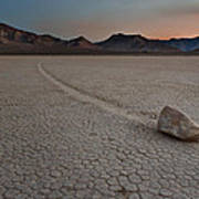 The Racetrack At Death Valley National Park Art Print