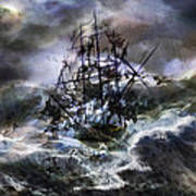 The Rage Of Poseidon IIi Art Print