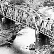 The Rail Bridge Art Print