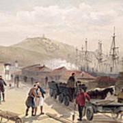 The Railway At Balaklava, Plate Art Print