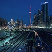 The Railway Lands Toronto Art Print
