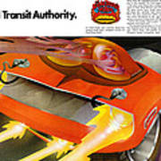 The Rapid Transit Authority Art Print