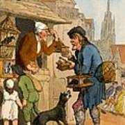 The Rat Trap Seller From Cries Art Print