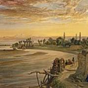 The Ravee River, From India Ancient Art Print