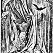 The Raven Nevermore Illustration Engraving Art Print