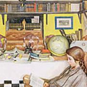 The Reading Room, Pub. In Lasst Licht Art Print