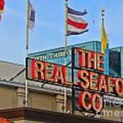 The Real Seafood Company 4201 Art Print