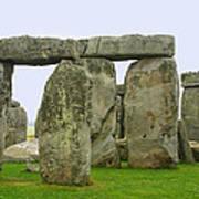 The Real Stonehenge Print by Linda Phelps